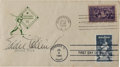 Autographs:Others, 1939 Eddie Collins Signed Baseball Centennial First Day Cover....