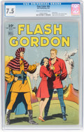 Golden Age (1938-1955):Miscellaneous, Four Color #84 Flash Gordon (Dell, 1945) CGC VF- 7.5 Cream to off-white pages....