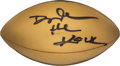 """Football Collectibles:Others, Late 1990's Dwayne """"The Rock"""" Johnson Signed Football. ..."""