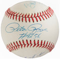 Autographs:Baseballs, 3,000 Hits Club Multi-Signed Baseball (6 Signatures)....
