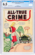 Golden Age (1938-1955):Crime, All-True Crime #31 (Atlas, 1949) CGC FN+ 6.5 White pages....