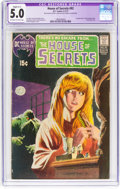 Bronze Age (1970-1979):Horror, House of Secrets #92 (DC, 1971) CGC Apparent VG/FN 5.0 Slight (C-1)Off-white to white pages....