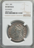 Bust Half Dollars, 1822 50C -- Cleaned -- NGC Details. XF. NGC Census: (39/401). PCGS Population: (142/776). CDN: $300 Whsle. Bid for problem-...