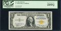 Small Size:World War II Emergency Notes, Fr. 2306 $1 1935A F-C Block North Africa Silver Certificate. PCGS Superb Gem New 69PPQ.. ...
