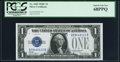 Small Size:Silver Certificates, Fr. 1603 $1 1928C Silver Certificate. PCGS Superb Gem New 68PPQ.. ...