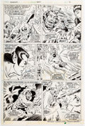 Original Comic Art:Panel Pages, Don Heck and Don Perlin Sub-Mariner #66 Story Page 2 Original Art (Marvel, 1973)....