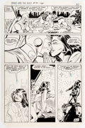 Original Comic Art:Panel Pages, Carmine Infantino and Sal Trapani The Brave and the Bold #190 Story Page 20 Original Art (DC, 1982)....