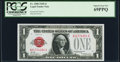 Small Size:Legal Tender Notes, Fr. 1500 $1 1928 Legal Tender Note. PCGS Superb Gem New 69PPQ.. ...