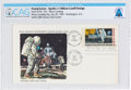 """Explorers:Space Exploration, """"First Man On The Moon"""" Official MSC Stamp Club First Day Cover Designed by Milt Caniff, Directly From The Armstrong Family Co..."""