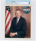 Explorers:Space Exploration, Neil Armstrong: NASA Official Business Suit Color Photo, 1962, Directly From The Armstrong Family Collection™, CAG Certified....