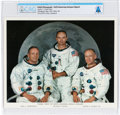 Explorers:Space Exploration, Apollo 11: Neil Armstrong Autopen-Signed White Spacesuit Crew Color Photo Directly From The Armstrong Family Collection™, ...