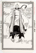 Original Comic Art:Splash Pages, Keith Giffen and Larry Mahlstedt Legion of Super-Heroes #307Splash Page 22 Original Art (DC, 1984)....