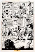 Original Comic Art:Panel Pages, Paul Gulacy and Pablo Marcos Master of Kung Fu #45 Page 14 Original Art (Marvel, 1976)....
