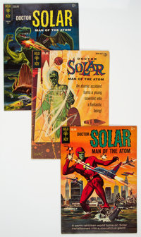 Doctor Solar, Man of the Atom #1 and 9-20 Group (Gold Key, 1962-68) Condition: Average FN-.... (Total: 20 Comic Books)