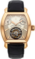 Timepieces:Wristwatch, Vacheron Constantin, Very Fine Malte Tourbillon, 18k Rose Gold,Ref. 30066-67/1, Circa 2001. ...