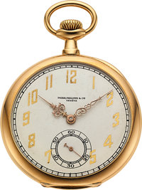 Patek Philippe Gold Watch For Mermod Jaccard & Co
