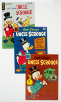 Bronze Age (1970-1979):Cartoon Character, Uncle Scrooge Group of 8 (Dell/Gold Key, 1961-82) Condition: Average VF.... (Total: 8 Comic Books)