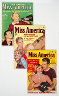 Golden Age (1938-1955):Romance, Miss America Magazine V7#19, 28, and 31 Group (Miss America Publishing, 1949-50).... (Total: 3 Comic Books)