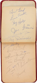 Football Collectibles:Others, 1957-59 Green Bay Packers Autograph Book....
