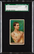 """Boxing Cards:General, 1888 N162 Goodwin """"Champions"""" Charlie Mitchell SGC 30 Good 2...."""