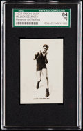 "Boxing Cards:General, 1923 Union Jack Jack Dempsey ""Monarchs Of The Ring"" #6 SGC 84 NM7...."