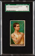 """Boxing Cards:General, 1888 N162 Goodwin """"Champions"""" Charlie Mitchell SGC 40 VG 3...."""