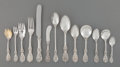 Silver & Vertu:Flatware, A One Hundred Sixty-Piece Reed & Barton Francis I Pattern Silver Flatware Service, Taunton, Massachusetts, desig... (Total: 160 Items)
