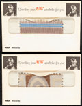 """Movie Posters:Elvis Presley, Elvis Presley Lot (RCA Records, 1960-1972). Fine/Very Fine.Clothing Swatches (2) (Envelope: 5.5"""" X 3.5"""", Swatch: 2"""" X 3"""")&... (Total: 6 Items)"""