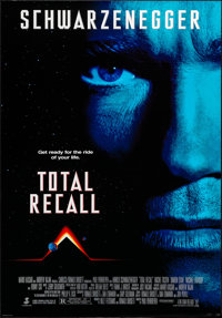 """Total Recall & Other Lot (Tri-Star, 1990). Rolled, Overall: Very Fine/Near Mint. One Sheets (2) (26.75"""" X 39.75..."""