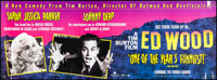 """Ed Wood & Other Lot (Buena Vista, 1994). Rolled, Very Fine-. Video Banner (72.25"""" X 26"""") & Ban..."""