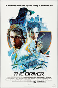 """The Driver & Other Lot (20th Century Fox, 1978). Folded, Very Fine. One Sheets (2) (27"""" X 41"""") M. Daily Ar..."""
