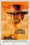 """Movie Posters:Western, Pale Rider (Warner Brothers, 1985). Rolled, Very Fine-. One Sheet (27"""" X 41"""") SS. C. Michael Dudash Artwork. Western.. ..."""