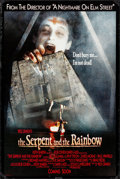 "Movie Posters:Horror, The Serpent and the Rainbow & Other Lot (Universal, 1987). Rolled, Overall: Fine/Very Fine. One Sheets (2) (26.75"" X 39.75"" ... (Total: 2 Items)"