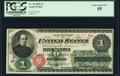 Fr. 16 $1 1862 Legal Tender PCGS Choice About New 55