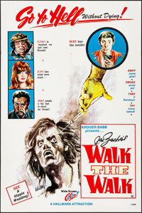 """Walk the Walk & Other Lot (Hallmark, 1970). Folded, Overall: Very Fine-. One Sheets (2) (28"""" X 42"""" & 2..."""