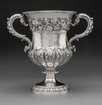 An Edward Barnard & Sons Silver Cup, London, 1829 Marks: (lion passant), (leopard's head), (duty mark), O, EJEW