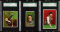 """Olympic Cards:General, 1888 N162 Goodwin """"Champions"""" & 1910 T218 SGC Graded Trio(3)...."""