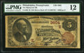 National Bank Notes:Pennsylvania, Philadelphia, PA - $5 1882 Brown Back Fr. 469 The Manayunk NB Ch. # (E)3604 PMG Fine 12.. ...