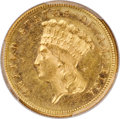 1882 $3 Repunched Date, FS-301, MS62 PCGS....(PCGS# 145710)