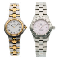 Lady's Mother-of-Pearl, Stainless Steel Watches