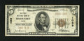 National Bank Notes:Maine, Biddeford, ME - $5 1929 Ty. 1 The First NB Ch. # 1089. Officers areJ.S. Guerin and H.T. Waterhouse. Fine+....