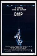 "Movie Posters:Adventure, The Deep (Columbia, 1977). One Sheet (27"" X 41"") Style B.Adventure. Starring Robert Shaw, Jacqueline Bisset, Nick Nolte,an..."