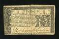 Colonial Notes:Maryland, Maryland March 1, 1770 $2/3 Extremely Fine. The body of the notegrades Extremely Fine but the centerfold has been tape repa...