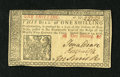 Colonial Notes:New Jersey, New Jersey March 25, 1776 1s Choice New. A lovely example of thisavailable New Jersey type that has superb printing, bold s...