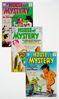 Silver Age (1956-1969):Horror, House of Mystery #142-144 Group (DC, 1964) Condition: Average VF.... (Total: 3 Comic Books)
