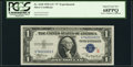Small Size:Silver Certificates, Fr. 1610 $1 1935A S Silver Certificate. PCGS Superb Gem New 68PPQ.. ...