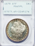 Morgan Dollars, 1878 8TF $1 Spiked Eye, VAM-3, MS65 Prooflike PCGS....