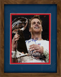 Football Collectibles:Photos, 2000's Tom Brady Signed Photograph....