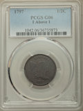 1797 1/2 C 1 Above 1 Good 6 PCGS. PCGS Population: (17/128). NGC Census: (0/0). From The Morris Collection....(PCGS# 104...