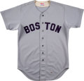 Baseball Collectibles:Uniforms, 1979 Fred Lynn Game Worn Boston Red Sox Jersey....